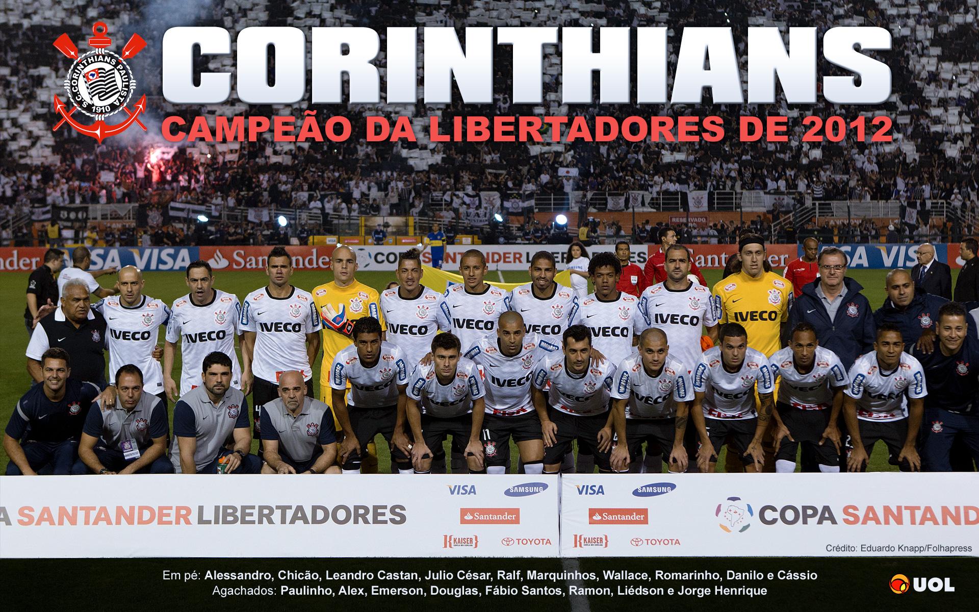 Wallpaper Corinthians Campeão da Libertadores 2012 - 04