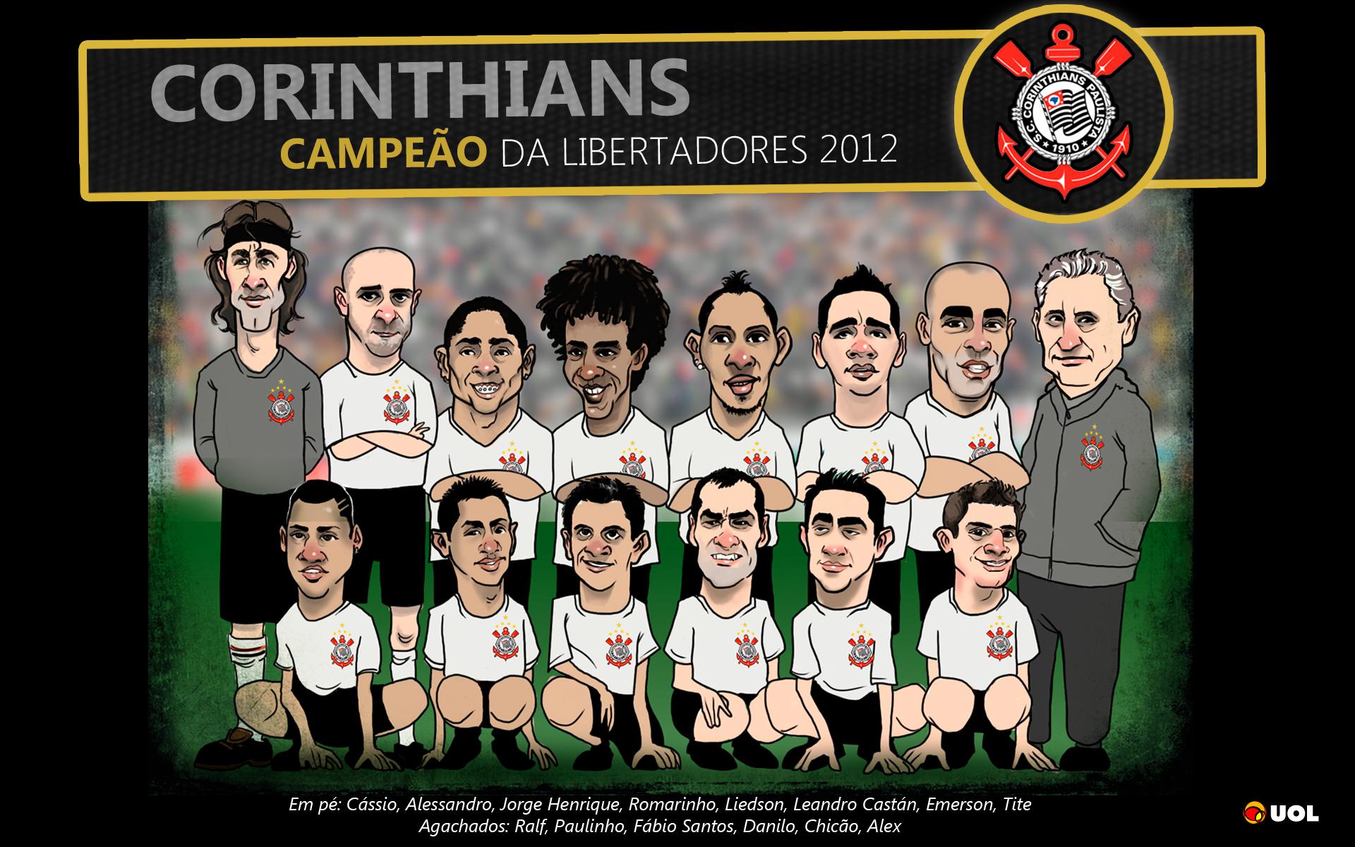 Wallpaper Corinthians Campeão da Libertadores 2012 - 05