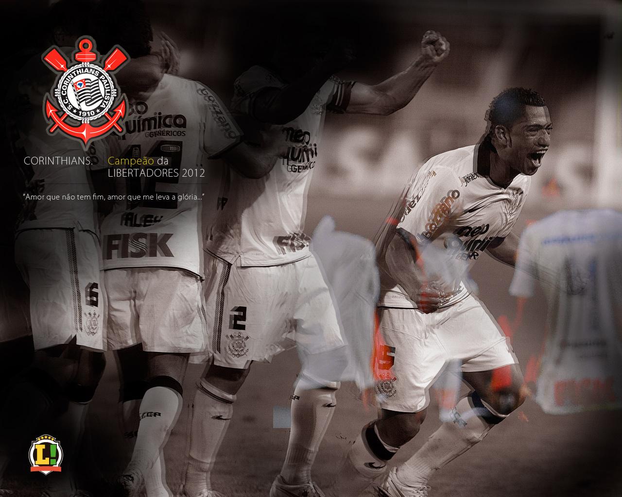 Wallpaper Corinthians Campeão da Libertadores 2012 - 07