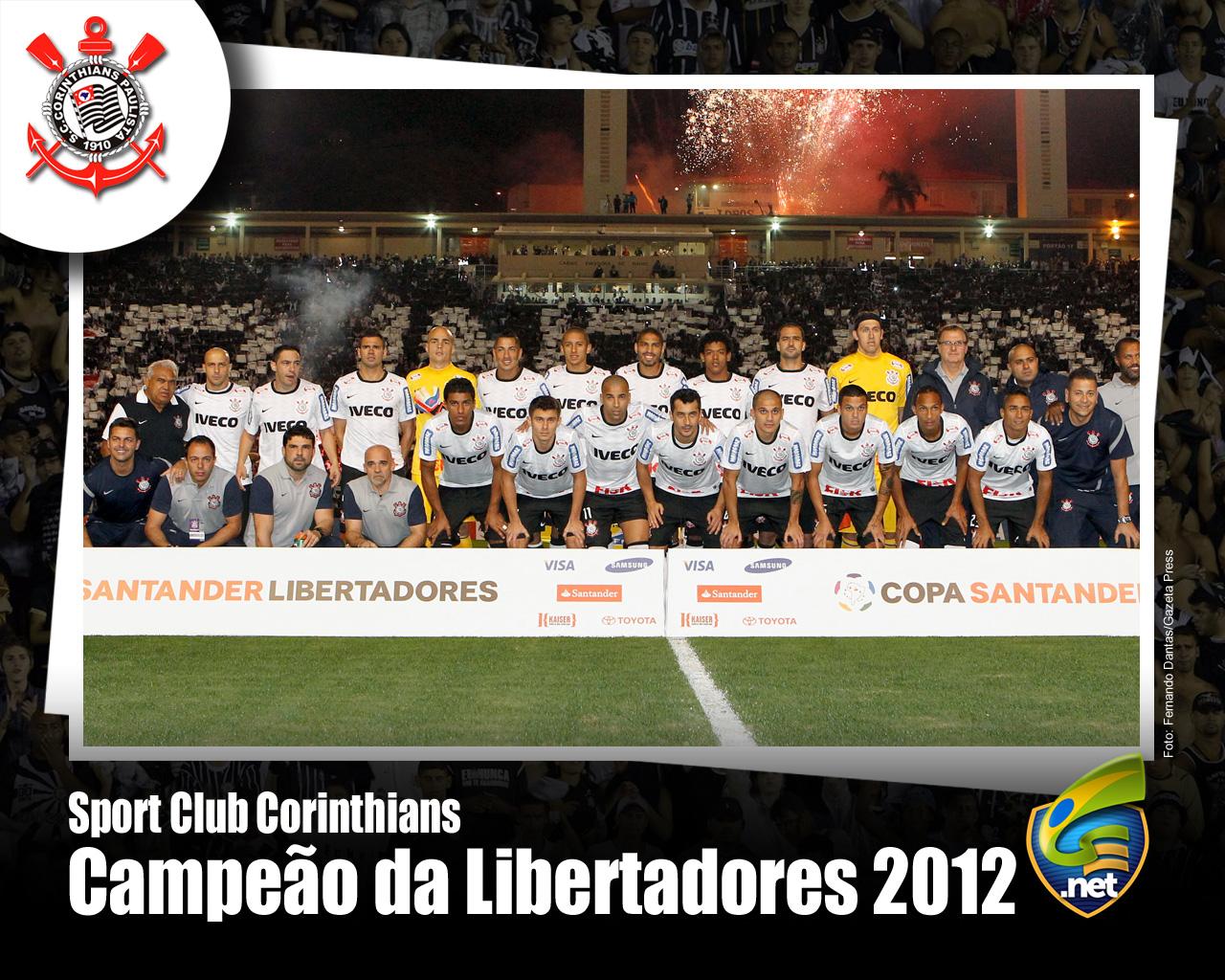 Wallpaper Corinthians Campeão da Libertadores 2012 - 08