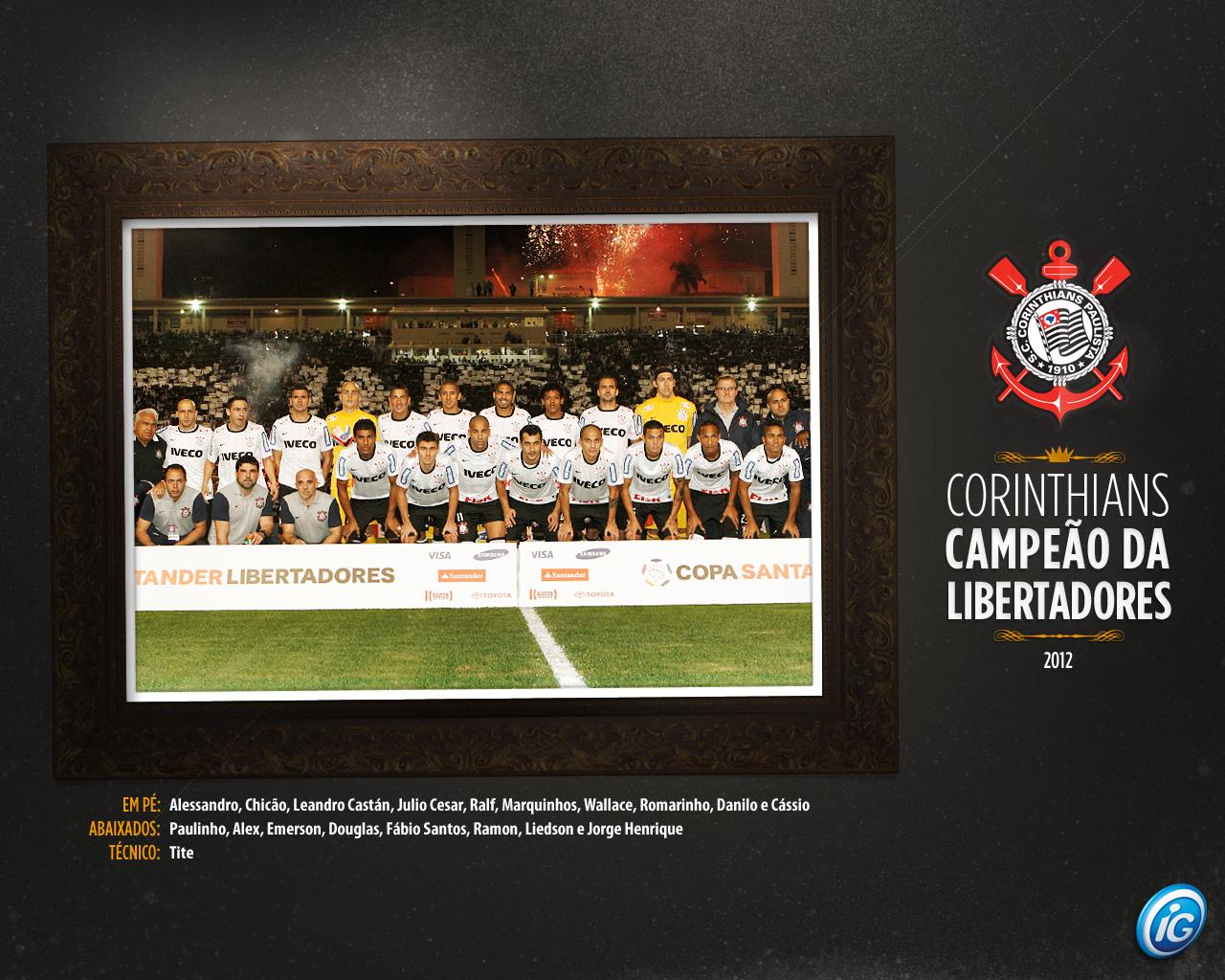 Wallpaper Corinthians Campeão da Libertadores 2012 - 10