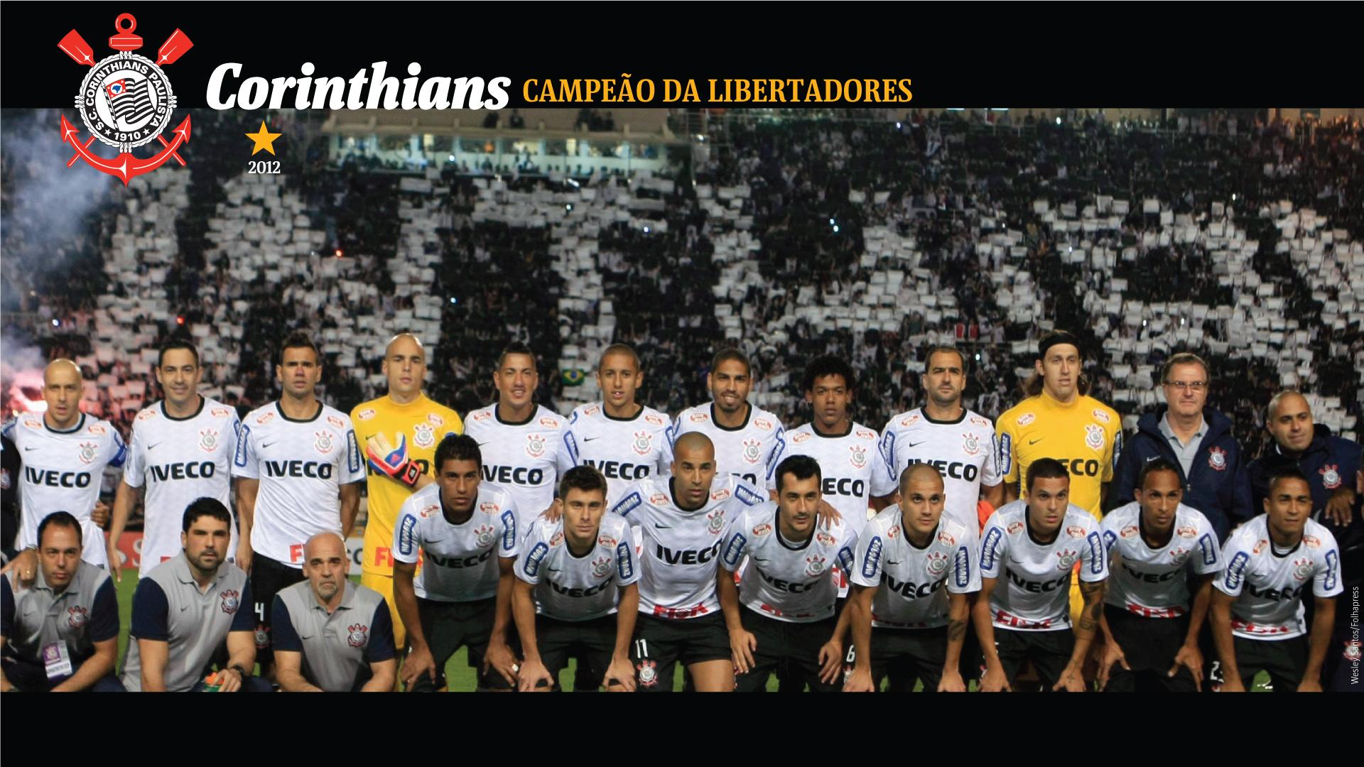 Wallpaper Corinthians Campeão da Libertadores 2012 - 11
