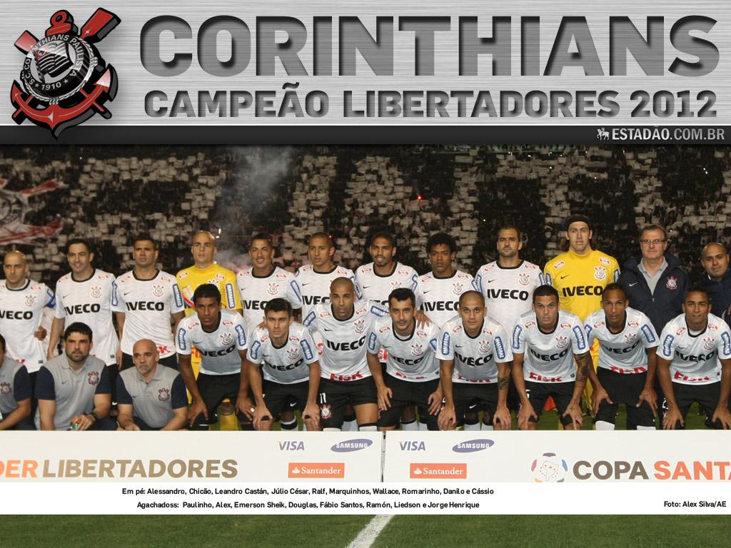 Wallpaper Corinthians Campeão da Libertadores 2012 - 13