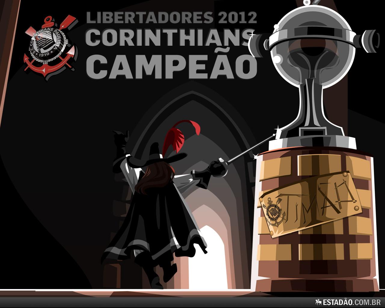 Wallpaper Corinthians Campeão da Libertadores 2012 - 14