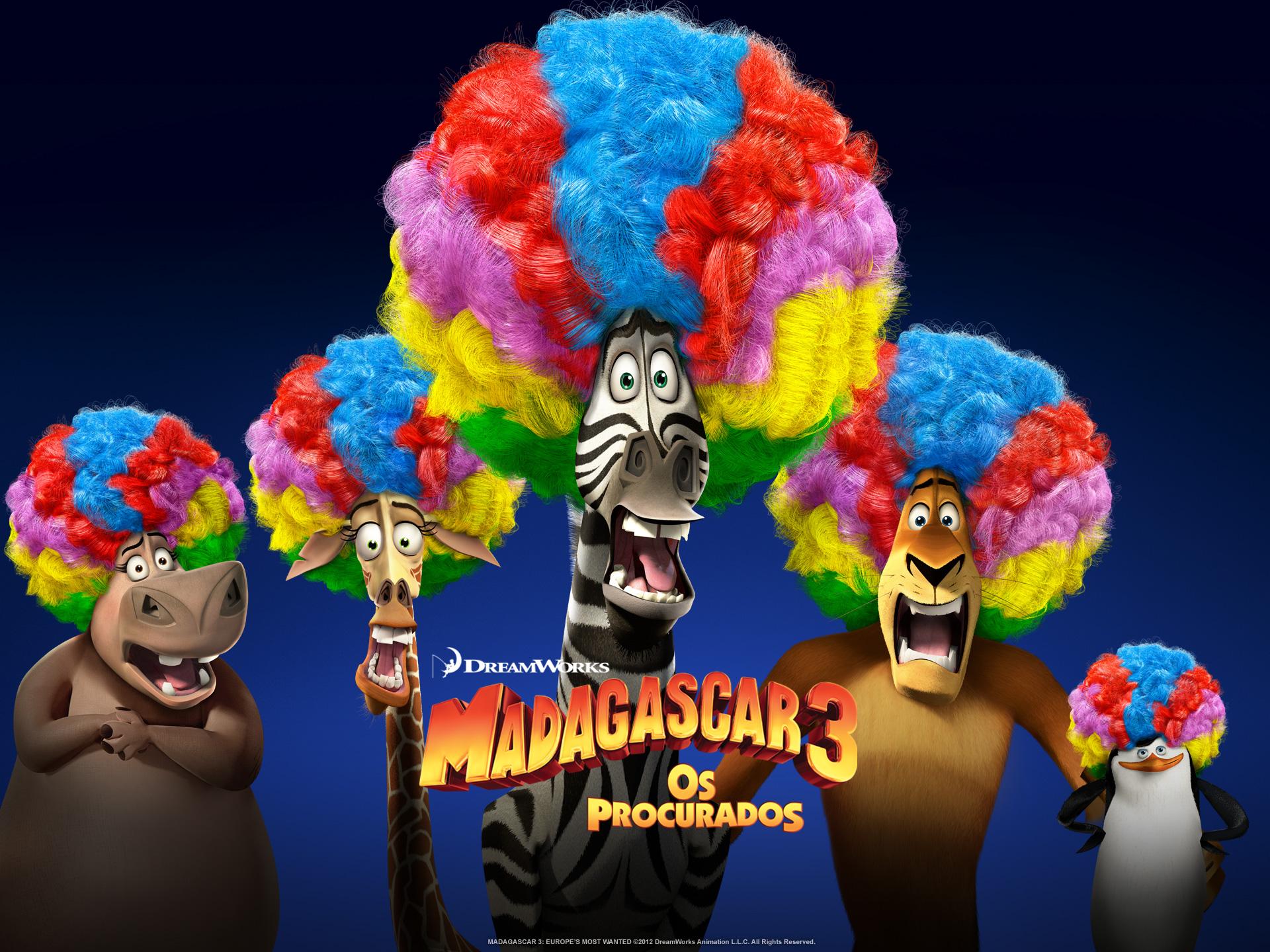 """Wallpapers de """"Madagascar 3: Os Procurados"""" 02"""