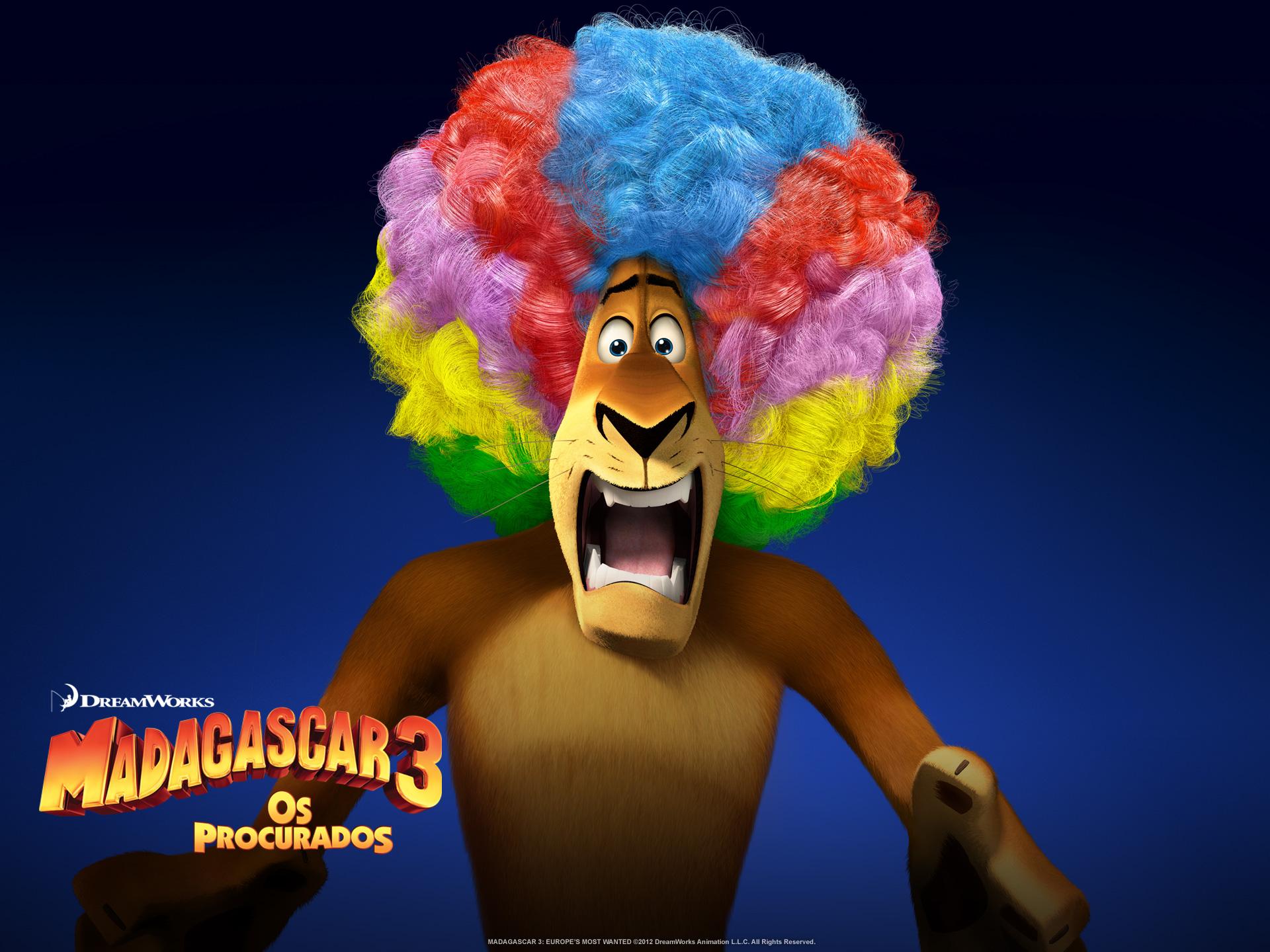 """Wallpapers de """"Madagascar 3: Os Procurados"""" 03"""