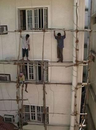 Segurança do Trabalho às avessas 16