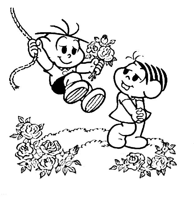 a arte de educar desenhos da primavera para colorir