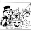 Halloween Turma da Mônica para colorir