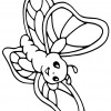 Desenho para colorir borboleta (11)