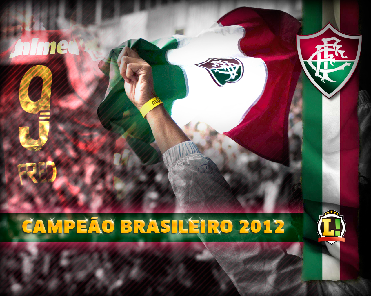 Wallpaper: Fluminense Campeão Brasileiro 2012 (3)