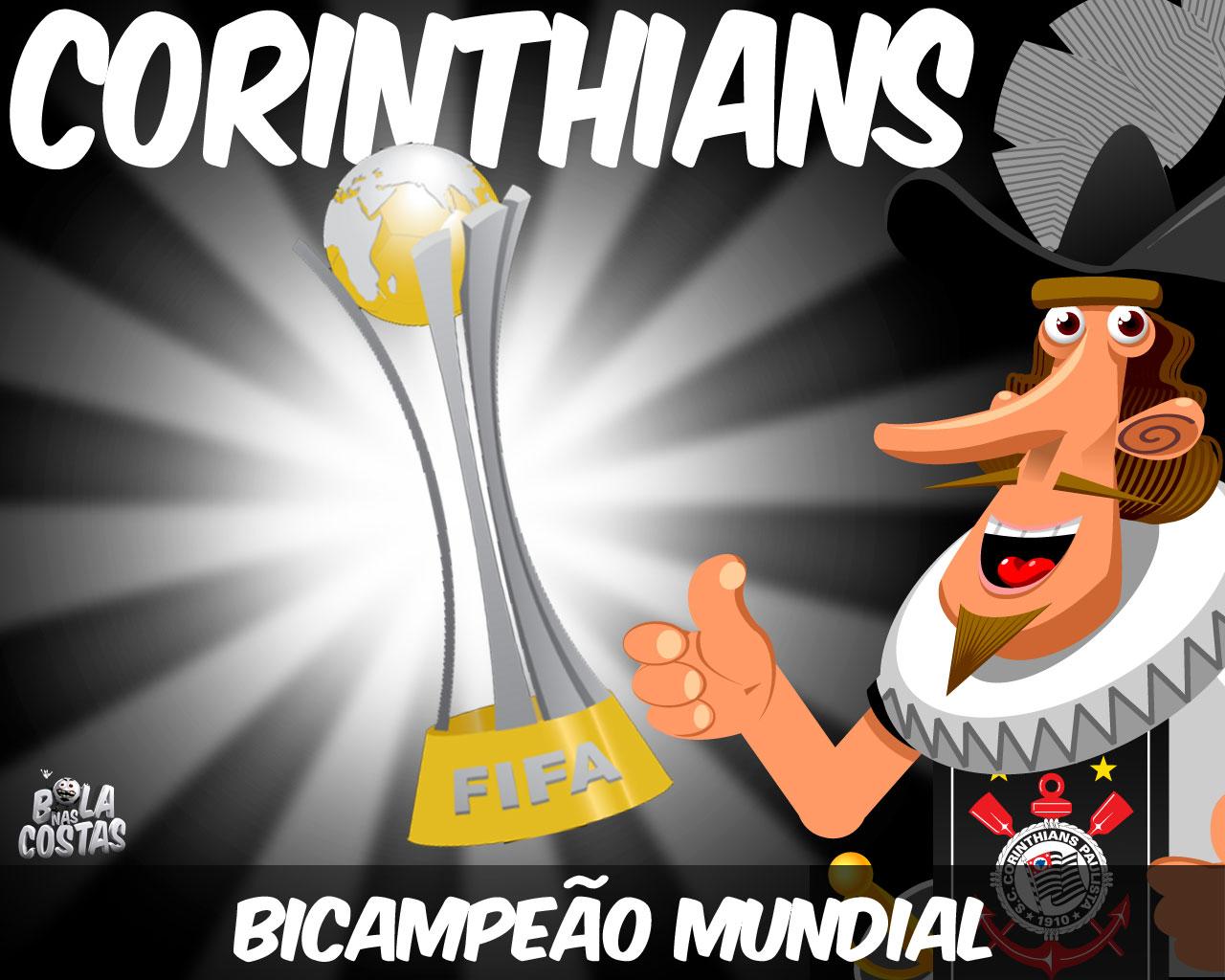Wallpaper: Corinthians Campeão Mundial de Clubes 2012