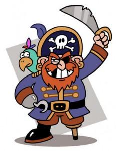 História de um pirata
