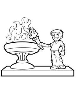 desenhos para colorir olimpíadas rio 2016 rota 83 atividades