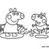 Desconto colorir Peppa Pig 15