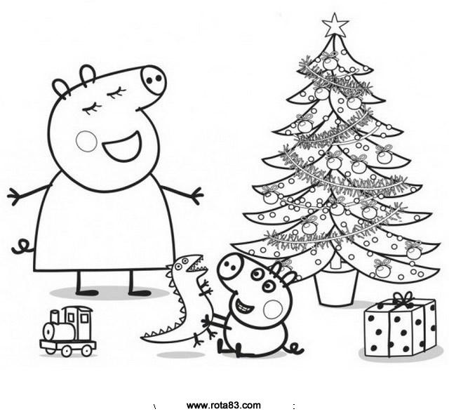 desenhos para colorir peppa pig  rota 83  atividades
