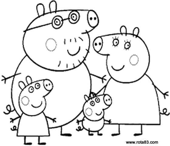 Desenhos Para Colorir Peppa Pig Rota 83 Atividades Educação