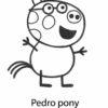 Desconto colorir Peppa Pig 28