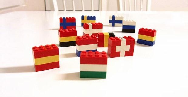 Lego Bandeiras - Olimpíadas Rio 2016