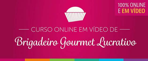Curso Online de Brigadeiro Gourmet Lucrativo