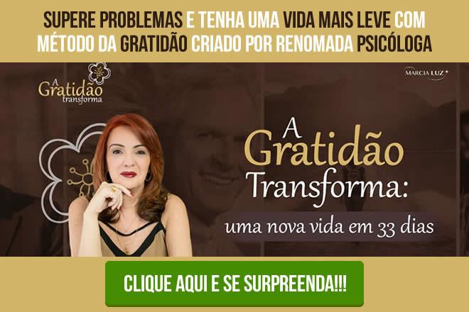 A Gratidão Transforma por Marcia Luz